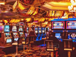 ラスベガスのカジノの写真・画像素材[1547481]