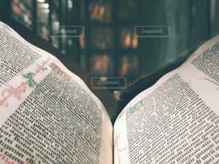 イェール大学図書館の古書の写真・画像素材[1570662]