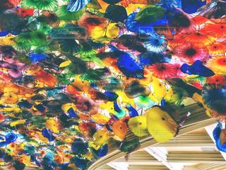 ベラージオホテルの天井の写真・画像素材[1575638]