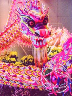 シンガポールの龍の写真・画像素材[1585003]