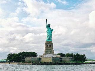 自由の女神像の写真・画像素材[1601921]