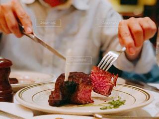 柔らかで美味しいステーキの写真・画像素材[1678350]