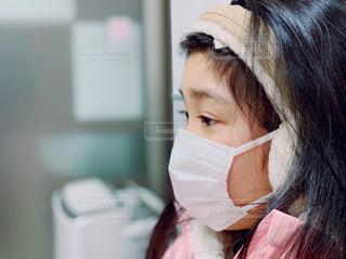 発熱して病院への写真・画像素材[1701971]