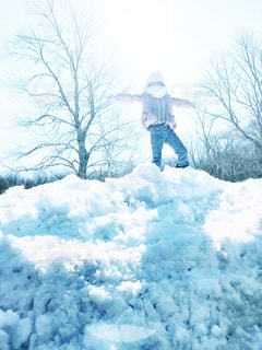 コネチカット州の雪山の写真・画像素材[1712505]