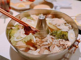 野菜多めのしゃぶしゃぶの写真・画像素材[1731545]