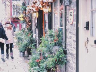クリスマス前の可愛い街並みの写真・画像素材[1817658]
