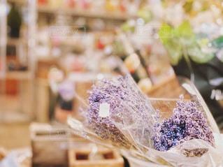 オックスフォードのラベンダーの花束の写真・画像素材[2060200]