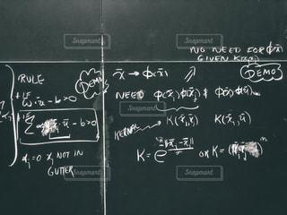 MITの数式の写真・画像素材[2128286]