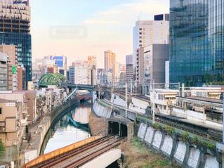 聖橋から見える風景の写真・画像素材[2400054]