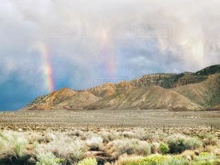 キャニオンと2つの虹の写真・画像素材[2509051]