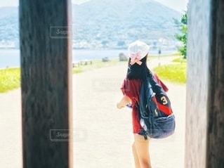 巌流島観光中の写真・画像素材[2674674]