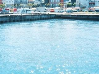 海の水面の写真・画像素材[2680698]