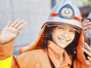 消防士体験の写真・画像素材[2966543]