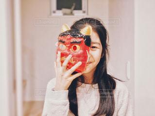 笑顔のオニの写真・画像素材[2969504]