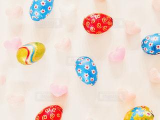 卵型チョコの写真・画像素材[3031298]