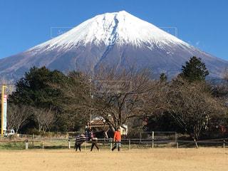 富士山の麓での写真・画像素材[1393904]