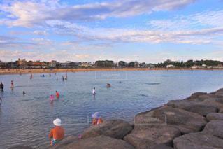 ビーチ,オーストラリア,水遊び,ウィリアムスタウンビーチ