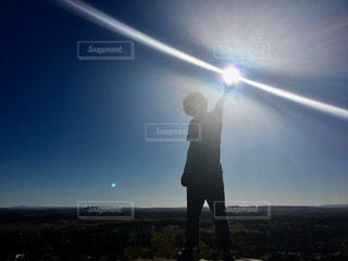 男性,太陽,後ろ姿,人物,背中,人,後姿,オーストラリア