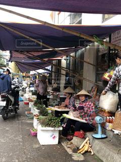 風景,海外,アジア,市場,ベトナム,海外旅行,朝市