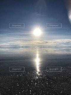 風景,湖,海外,朝日,世界遺産,景色,朝焼け,海外旅行,ウユニ,ウユニ塩湖,南米