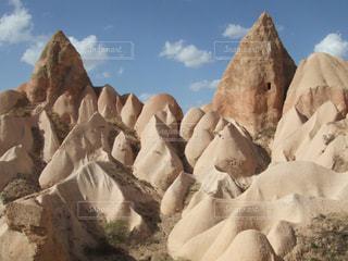 トルコ カッパドキアの奇岩の写真・画像素材[1210967]