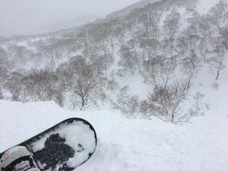 冬,雪,屋外,白,雪山,スノボー,寒さ,レジャー・趣味