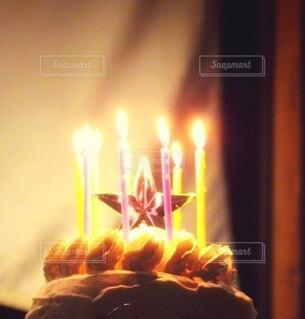 クリスマスケーキの写真・画像素材[3956777]