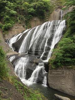 迫力がある袋田の滝の写真・画像素材[1252856]