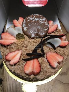 チョコレート カバー ドーナツの写真・画像素材[1145058]