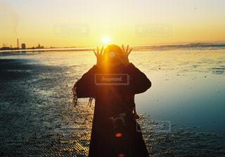 江川海岸にて。の写真・画像素材[1197587]
