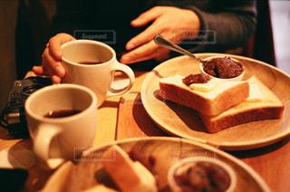 カフェにての写真・画像素材[2254861]