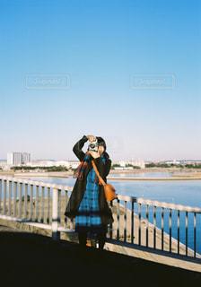 カメラ 散歩の写真・画像素材[2267982]