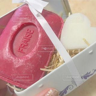フランスのいい匂いの石鹸の写真・画像素材[1148700]