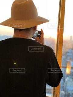 帽子をかぶった男の写真・画像素材[1262272]