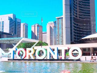 カナダトロントにての写真・画像素材[1194831]