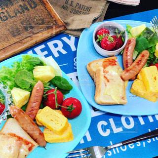 プレート、食品トレイの写真・画像素材[1160596]