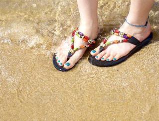 夏の浜辺の写真・画像素材[1325384]