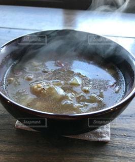 あつあつ野菜スープの写真・画像素材[1757636]