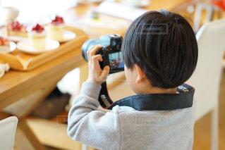 カメラ男子の写真・画像素材[1844958]