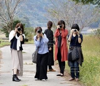 撮るよ〜!の写真・画像素材[3392931]