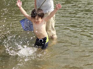 水遊びの写真・画像素材[676727]