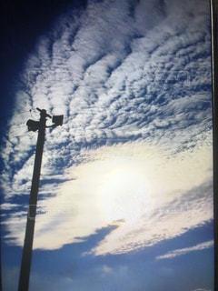 秋空,雲の芸術,空のキャンパス