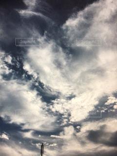 地球,秋の空,蒼,雲の芸術