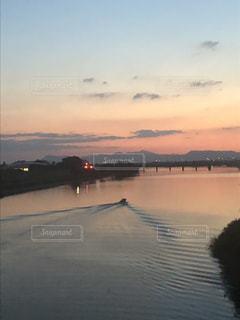 水平線の向こうにの写真・画像素材[1487333]