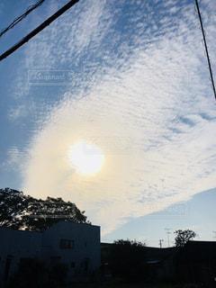 不思議な空,鱗雲,光と風,澄んだ秋の