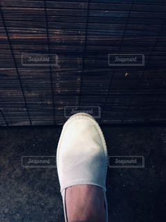 自撮り,ひんやり,クール,白い靴,夏が近い,かき氷食べた後,僕の足