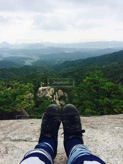 山の眺望の写真・画像素材[1162970]