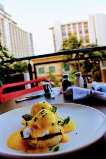 ハワイの朝ご飯の写真・画像素材[1170189]