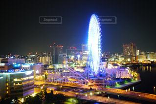 横浜夜景の写真・画像素材[1680934]