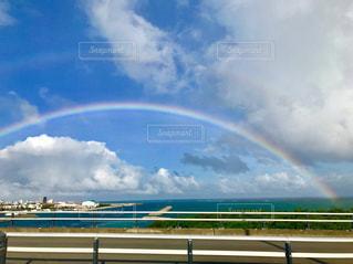 二重の虹🌈🌈💓の写真・画像素材[2509489]